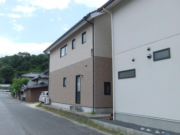 住宅外壁施工工事1