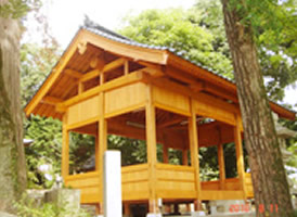 こだわり4. 古い建築物(社寺建築)にも対応いたします。